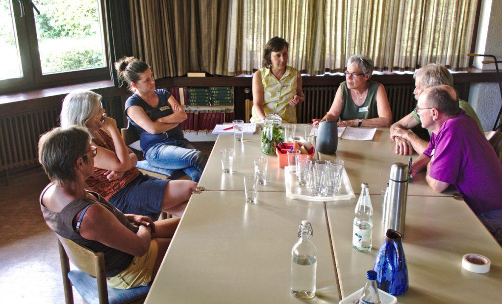 20160709 - Solavie - Grundsatzforum - In einer Arbeitsgruppe