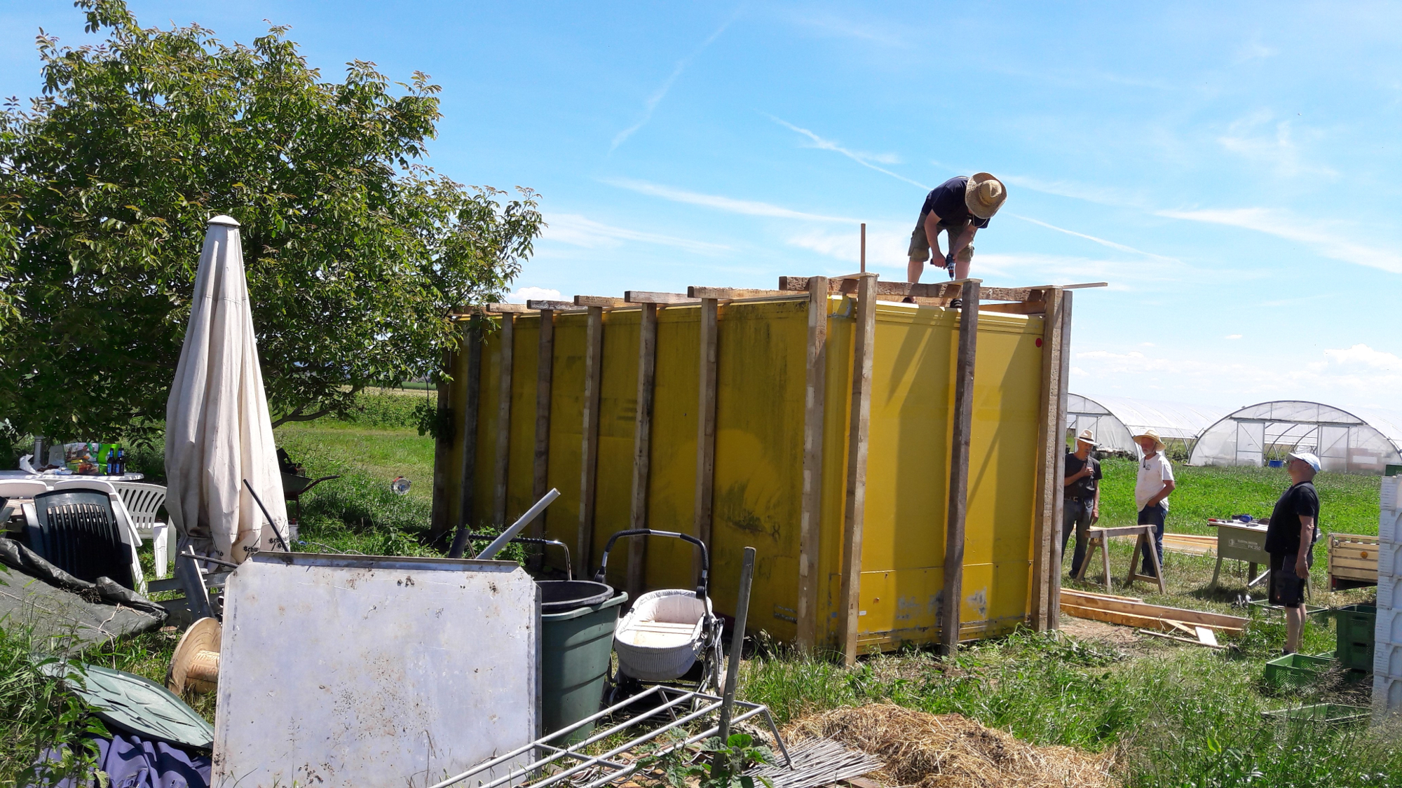 Häufig Container darf bleiben – SoLaVie Offenburg/Ortenau PW35
